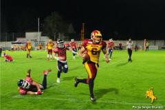 25.09.2021  NLA SEMIFINAL - AMERICAN FOOTBALL - Calanda Broncos vs Winterthur Warriors