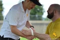 22-08-2021 - American Football - SAFV - NLA - Basel Gladiators vs Winterthur Warriors -