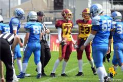 17-07-2021 - american football - Swiss U19 - Winterthur Warriors vs Geneva Seahawks