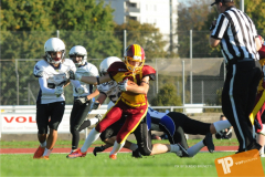 SAFV 2018 - U16 - Winterthur Warriors vs Hohenems Cineplexx Blue Devils