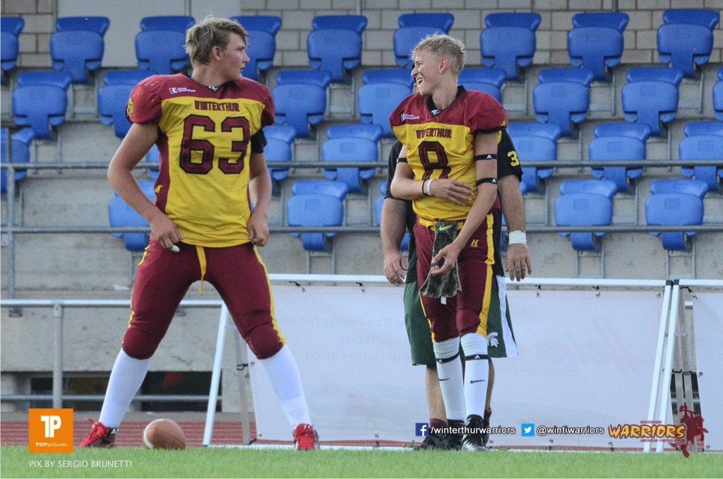 SAFV Under 16 - Winterthur Warriors vs Zurich Renegades
