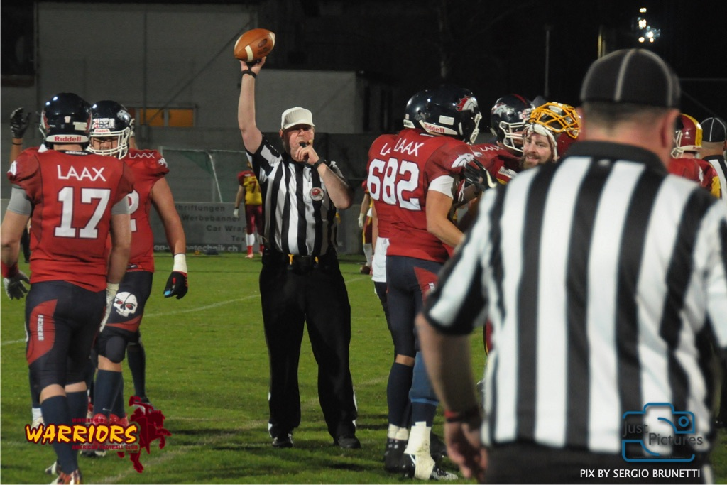 American Football NLA Calanda Broncos vs Winterthur Warriors