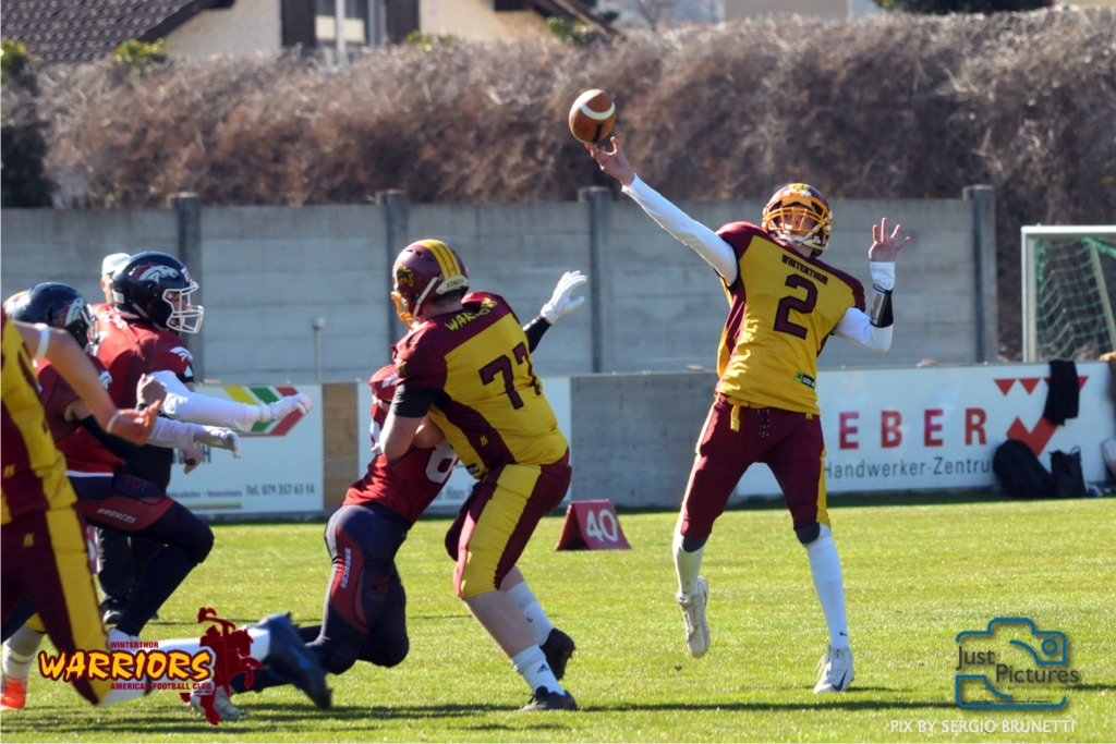 American Football U19 - Calanda Broncos vs Winterthur Warriors