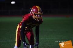 Beim US-Sports spiel der American Football - U16 zwischen dem Winterthur Warriors U16 und dem Calanda Broncos U16, on Saturday,  29. September 2018 im Sportanlage Deutweg in Winterthur . (TOPpictures/Michael Walch) Bild-Id: WAM_46248