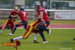 18.05.2019, American Football, Herren, 2018/2019, U-19, Winterthur Warriors U19 vs Calanda Broncos U19,