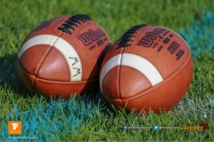 Beim US-Sports spiel der American Football NLA zwischen dem Winterthur Warriors und dem Bern Grizzlies, on Saturday,  02. June 2018 auf dem Sportplatz Deutweg in Winterthur. (TOPpictures/Michael Walch)  Bild-Id: WAM_42962