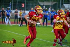 15.06.2019, American Football, Herren, 2018/2019, NLA, Winterthur Warriors vs Luzern Lions  ,