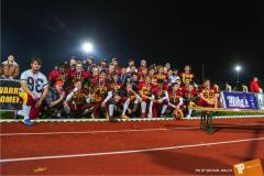 Beim US-Sports spiel der American Football - U16 zwischen dem Winterthur Warriors und dem Bern Grizzlies, on Saturday,  03. November 2018 im Sportpark Deutweg in Winterthur. (TOPpictures/Michael Walch)Bild-Id: WAM_50030
